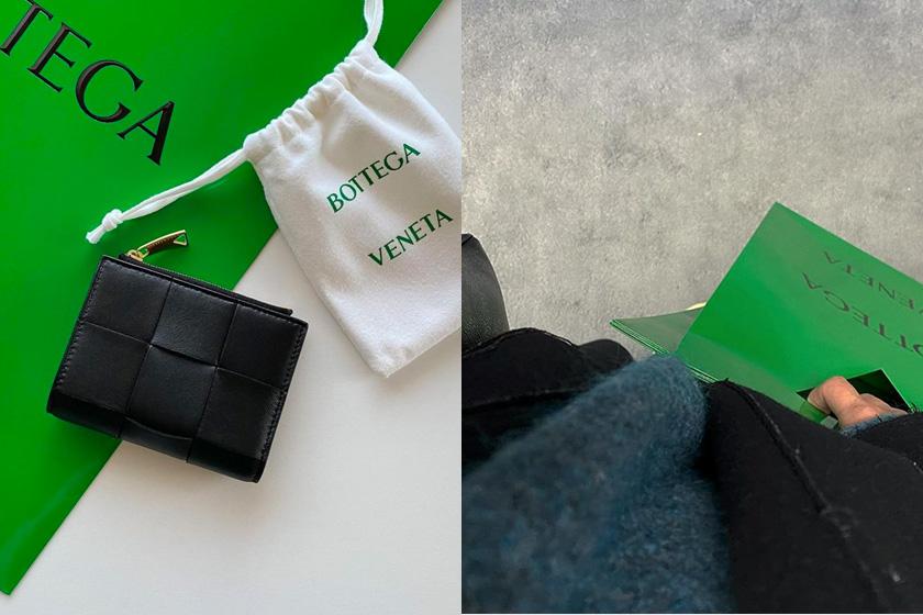 Bottega Veneta Intrecciato mini wallets 2021