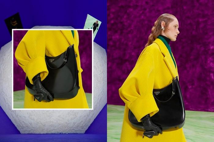 #MWF:Prada 超人氣熱銷手袋 Cleo Bag,放大版尺寸成為焦點!