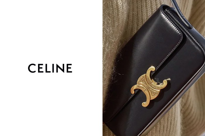 時髦感加倍:CELINE Triomphe 經典肩背包,全新尺寸更別緻高質!