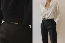 拋開老派的 H 皮帶:Hermès 這一款低調時髦,還可以兩面繫!