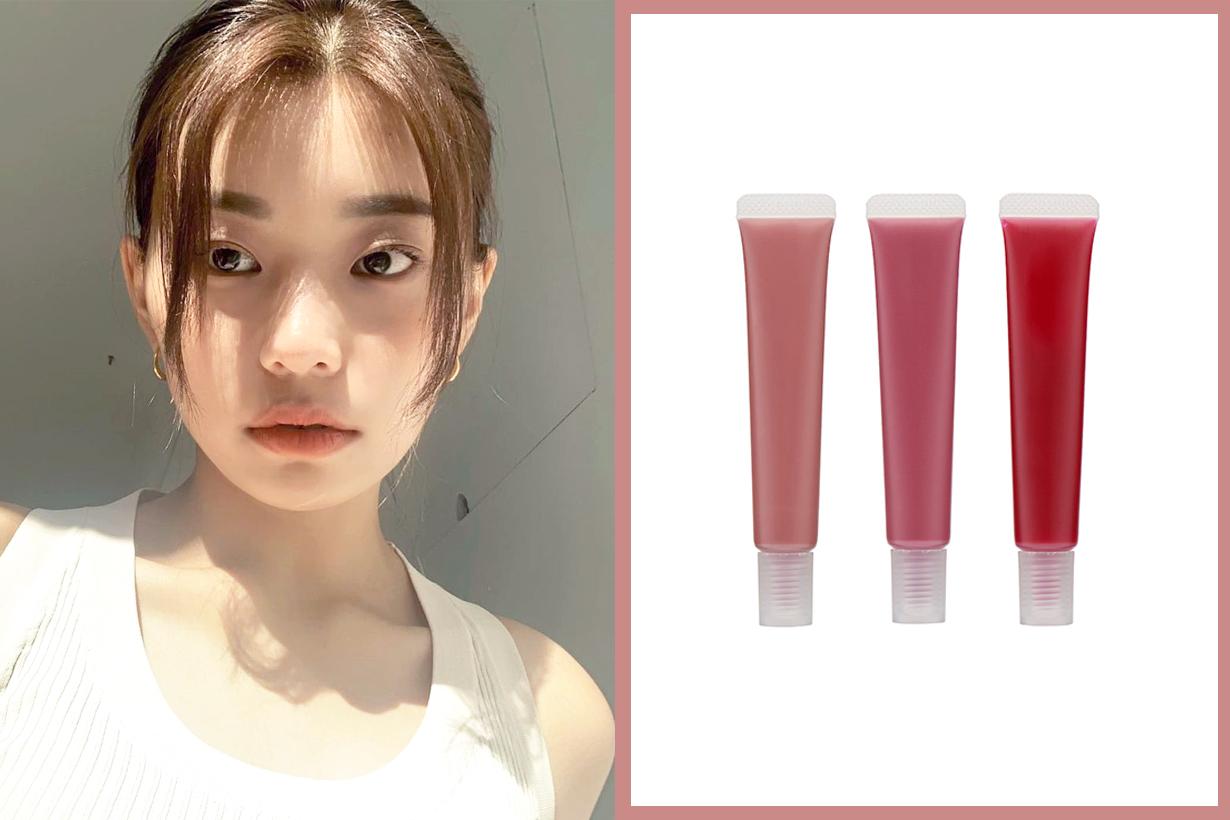 Japan Muji Lip Essence Color Muji Skincare Cosmetics Makeup pink beige burgundy rose