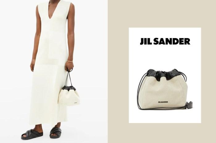 讓簡約控心動的設計:初春打造休閒時尚感,就靠 Jil Sander 帆布包系列!