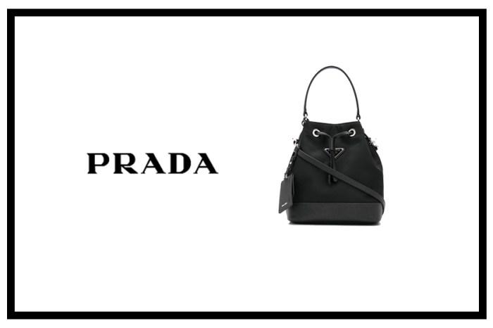 不能遺漏 Prada 這款水桶包!時尚簡約設計,不用 HK$1 萬就能入手!