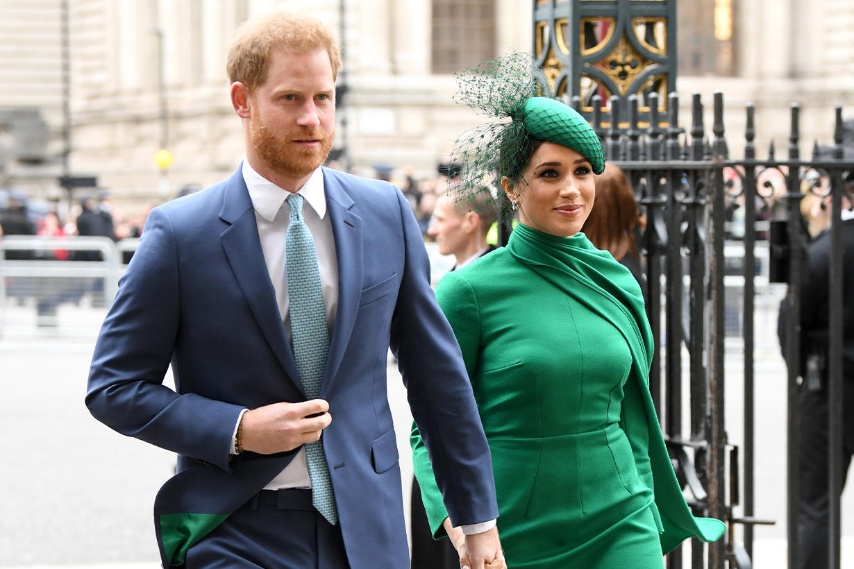 Prince Harry Meghan Markle Duke of Sussex Duchess of Sussex Prince Archie Pregnancy Announcement Princess Diana Lady Diana Valentine's Day 1984 British Royal Family