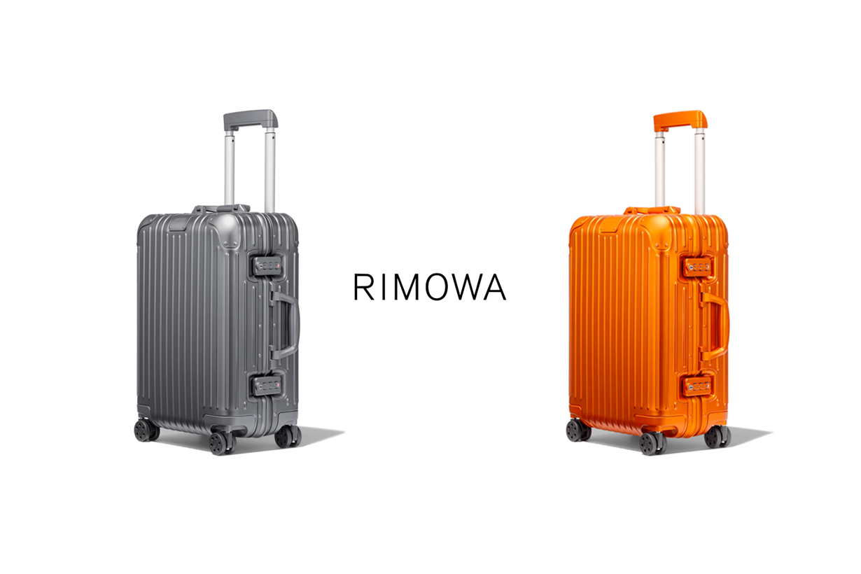 RIMOWA Mars orange Mercury grey cabin luggage trunk 2021 new
