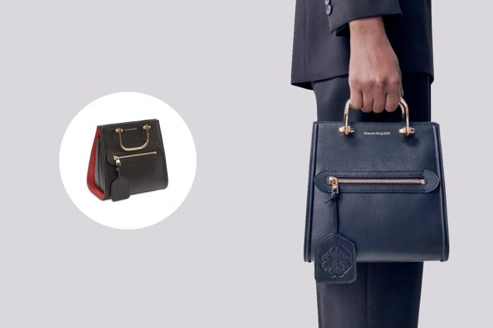 讓人越看越著迷:Alexander McQueen 21SS 新手袋,宛如囧臉包 2.0!