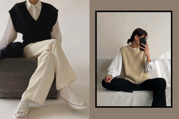 歐美日韓女生大力追棒:由現在一直穿到春季,這款針織單品能打造氣質滿滿的層次穿搭!
