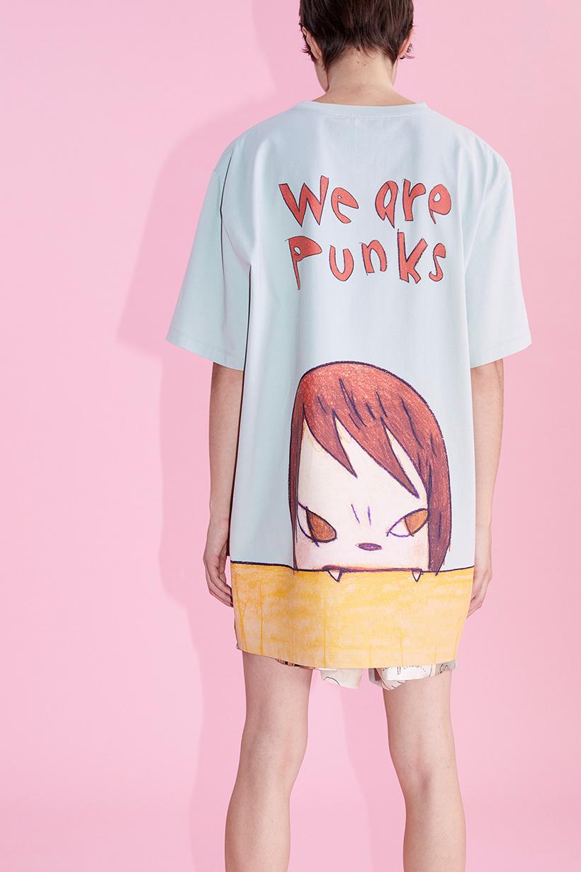 Stella McCartney x Yoshitomo Nara SS21 unisex capsule We are punks