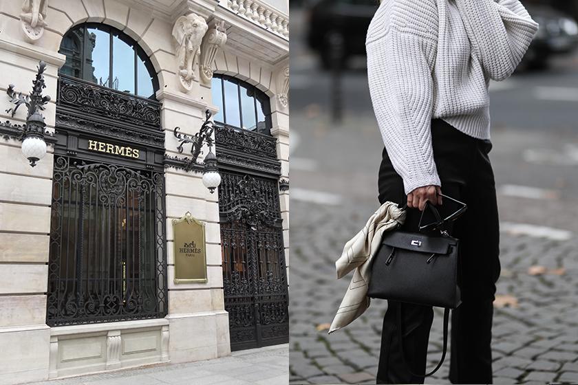 hermes birkin kelly designer bags illegal organization resell French