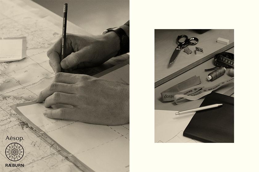 Aesop RAEBURN hand balm hand wash Collaboration