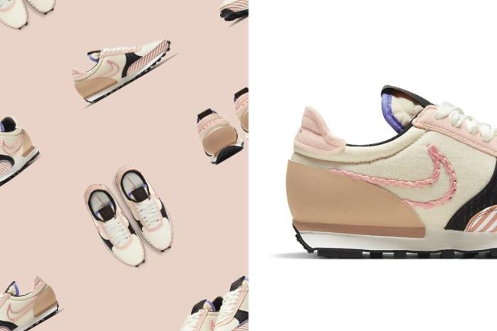 滿滿可愛細節:時髦女生都在穿的 Nike Daybreak 推出變奏版本,榮登近期最熱門!