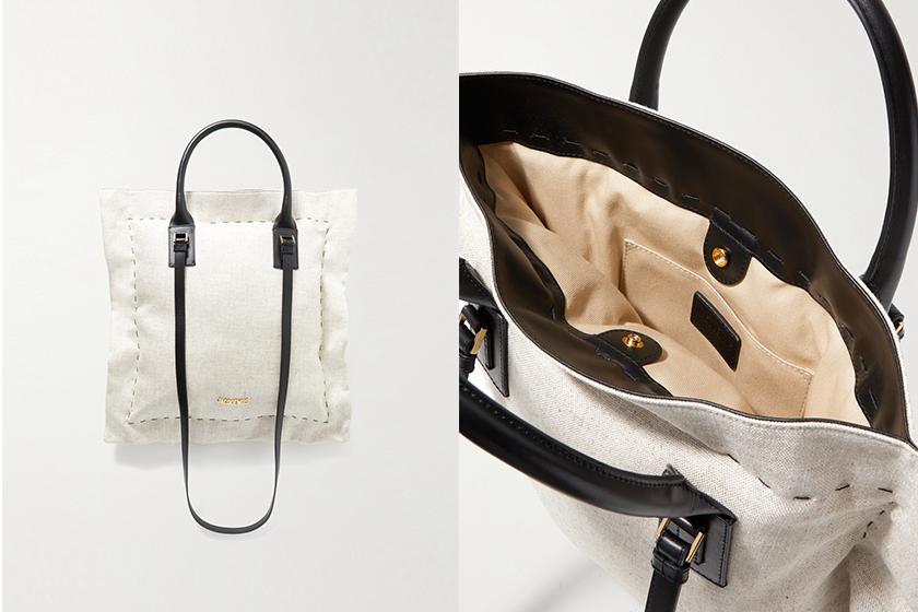 Jacquemus Le Coussin cotton canvas tote bag