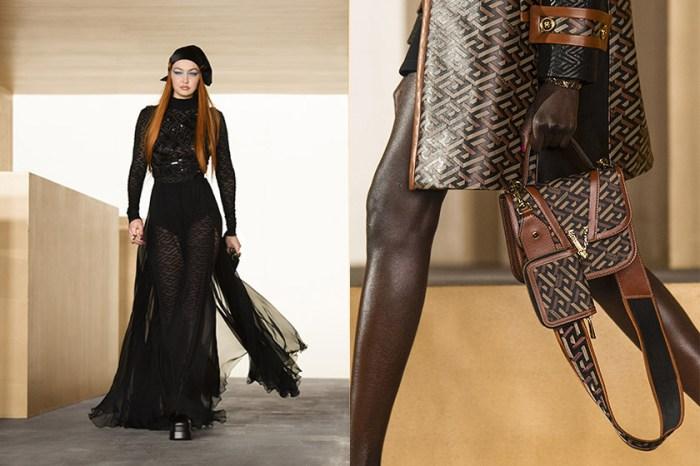 引起熱議:Versace 秋冬秀上登場的全新「La Greca」圖騰手袋成為最大亮點!