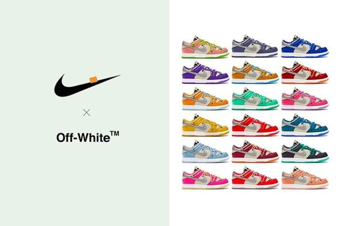 關於 Off-White x Nike 又一波聯名「THE 20」消息,Virgil Abloh 親自回應了!