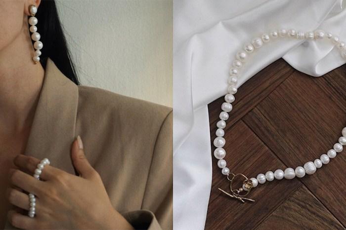 本季必備的珍珠首飾:被時髦博主熱愛的小眾品牌 Anita Berisha 將優雅融入每個日常!