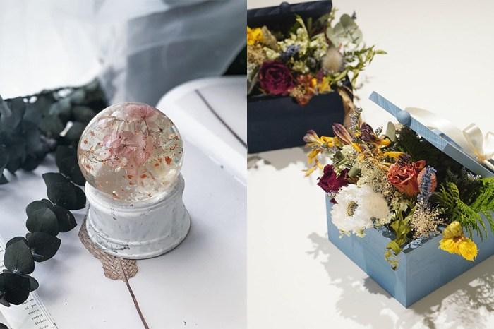 為心情帶來平靜與療癒:動手製作獨一無二的香氛蠟燭、永生花、珍珠耳環吧!