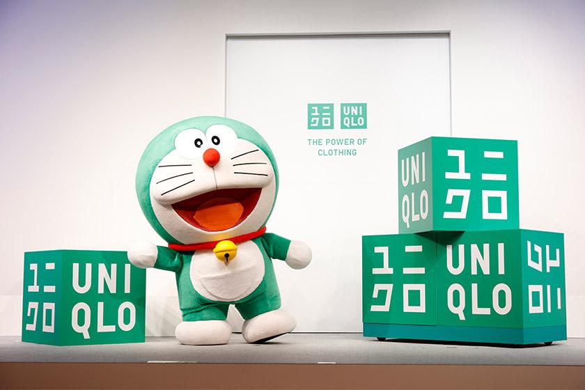 Uniqlo Green Logo Doraemon Sustainability Mode