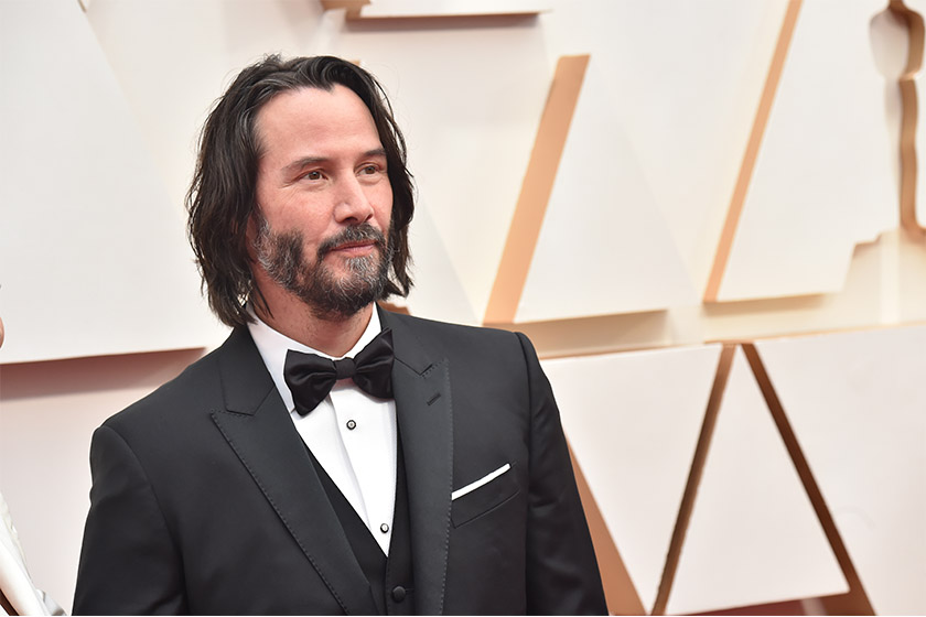 Keanu Reeves Brzrkr Live Action Film Netflix