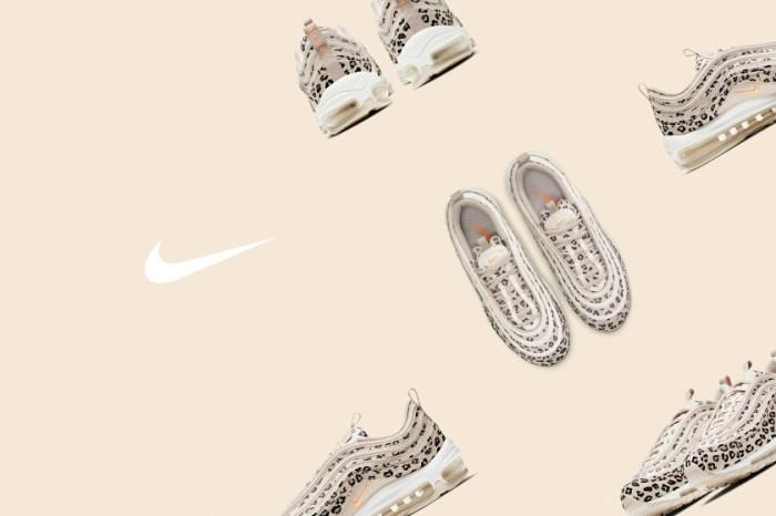個性女生請鎖定:Nike 為經典 Air Max 97 帶來玫瑰奶茶色豹紋,最適合春日搭配!