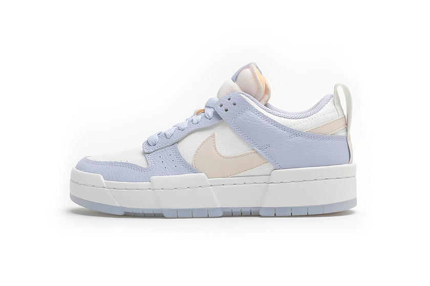 Nike Dunk Low Disrupt Spring Color Pink Sneakers