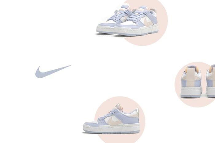本季話題第一名鞋款是它:Nike 為變奏版 Dunk 注入一抹春日的粉色調!