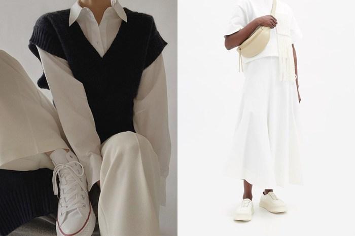 時髦女生也熱愛的 10 雙極簡白色波鞋,是你春日穿搭不可缺少的單品!