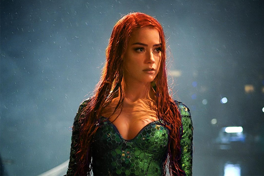 Amber Heard Fired From Aquaman 2 Rumors