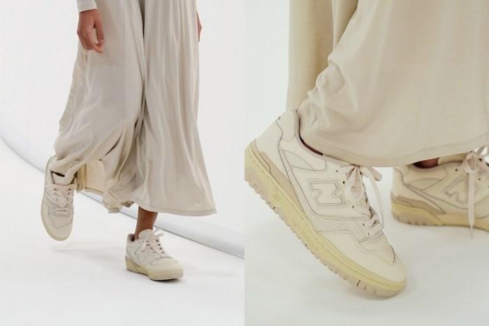 日本簡約 Auralee 新聯名:改造 New Balance 籃球鞋,變得復古又優雅!