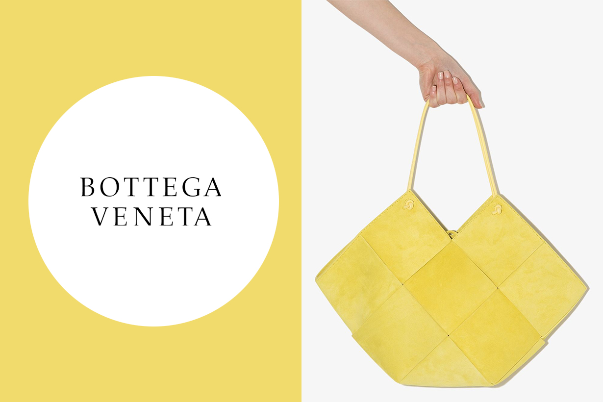 Bottega Veneta Maxi Intrecciato suede tote bag Daniel Lee Tote 2021 Spring Summer Handbags