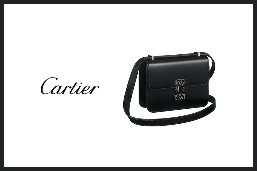 cartier handbag double c de cartier shoulder bag