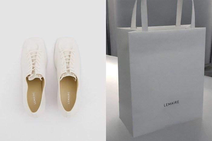 低調時髦:尋覓夏日的小白鞋,Lemaire 這雙極簡惹人愛!