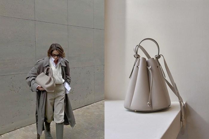 默默攻佔 IG:法國小眾手袋 Polène,極簡水桶包最受歡迎!