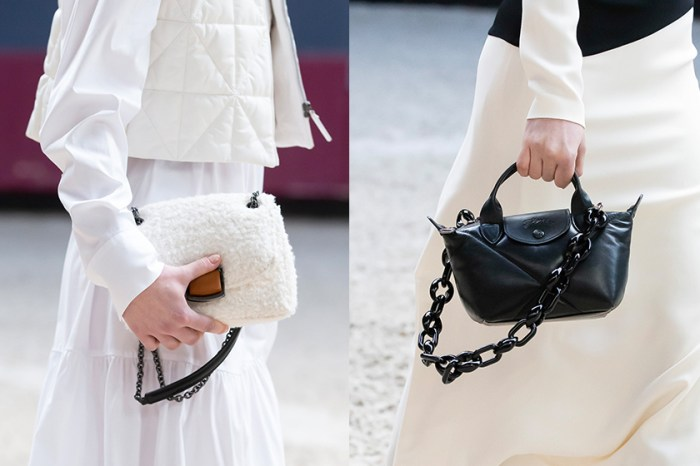 #PFW:Longchamp 經典手袋,全新粗鏈結鏈帶成為焦點!