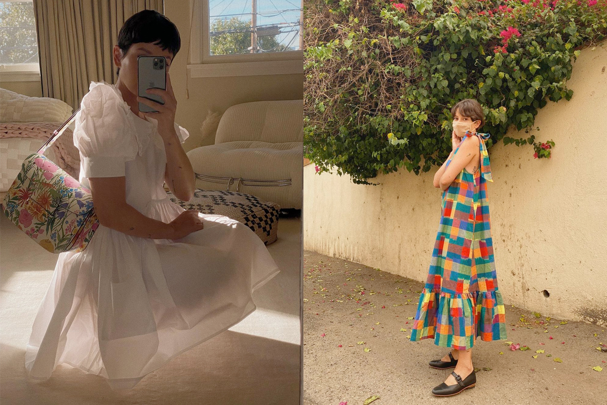 2021 spring summer dress vintage style alyssainthecity how to choose