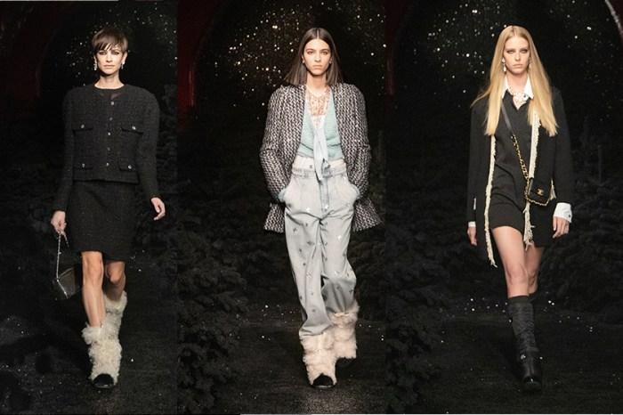 #PFW:走進大秀後台,寬鬆牛仔褲、毛絨靴讓 Chanel 不一樣了!