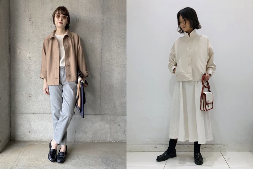 UNIQLO JERSEY RELAXED JACKET 2021ss