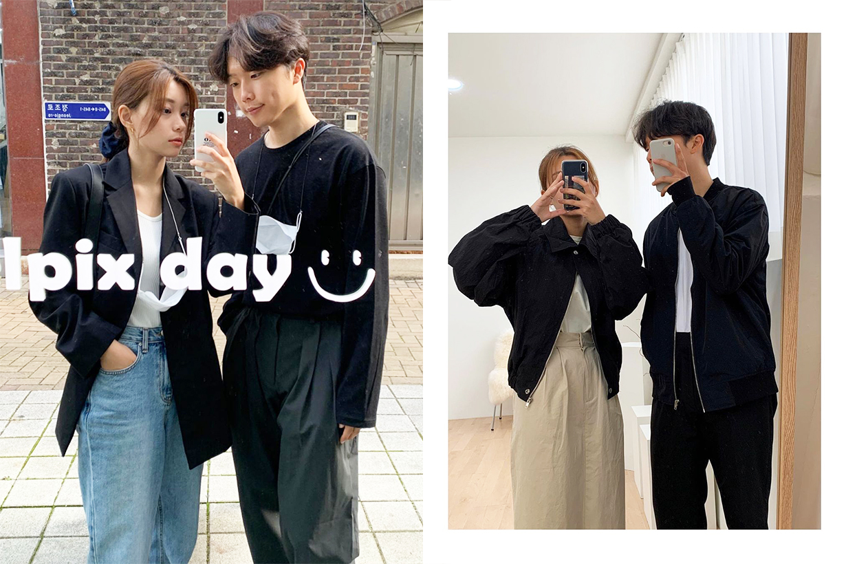 Boyfriend Couple Styling tips Couple Style Fashion items middle sex trend POPBEE editors pick White Day Valentines Day