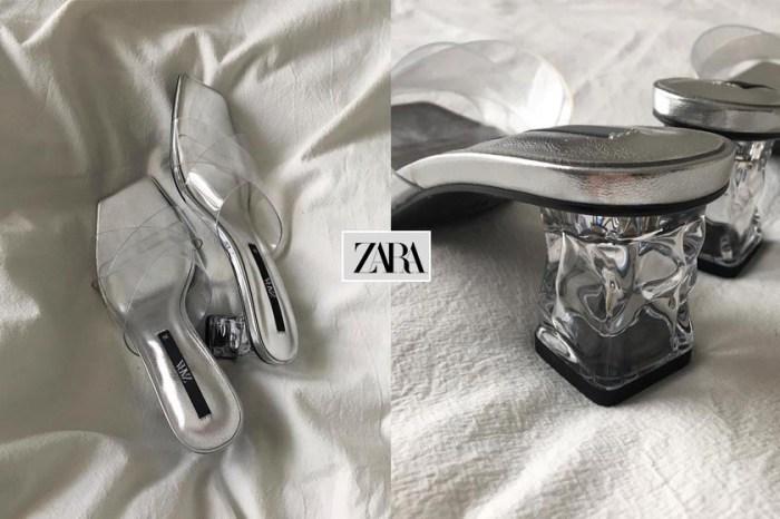 加入時髦行列:ZARA 透明涼鞋,不規則鞋跟散發高級美!