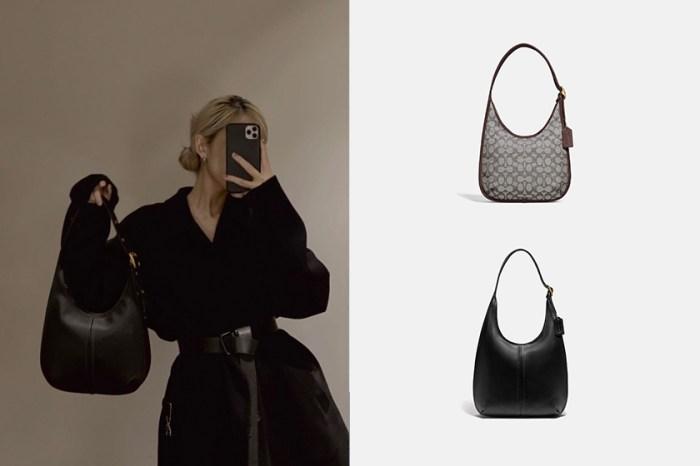 入門級名牌手袋:Coach 新推出人氣肩背包,還可以裝下筆電!