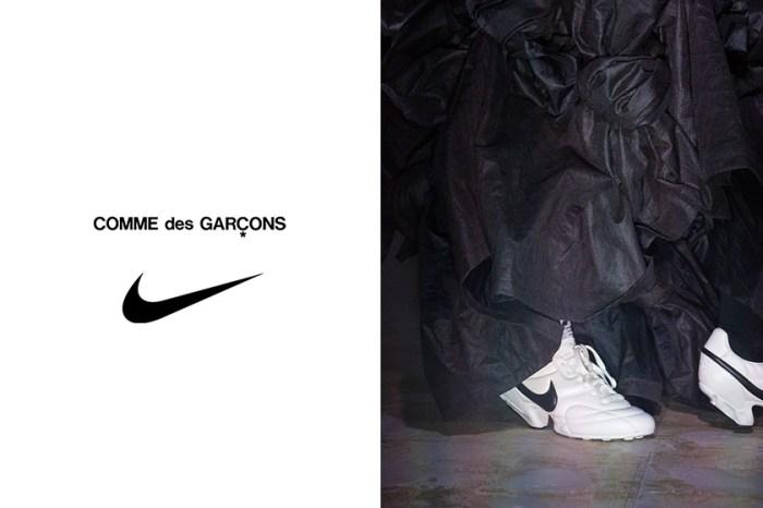 個性女生超愛:COMME des GARÇONS x Nike 新聯乘又成焦點!