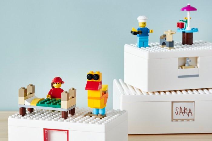 為積木迷而設,IKEA 與 LEGO 合作推出特製貯物盒!