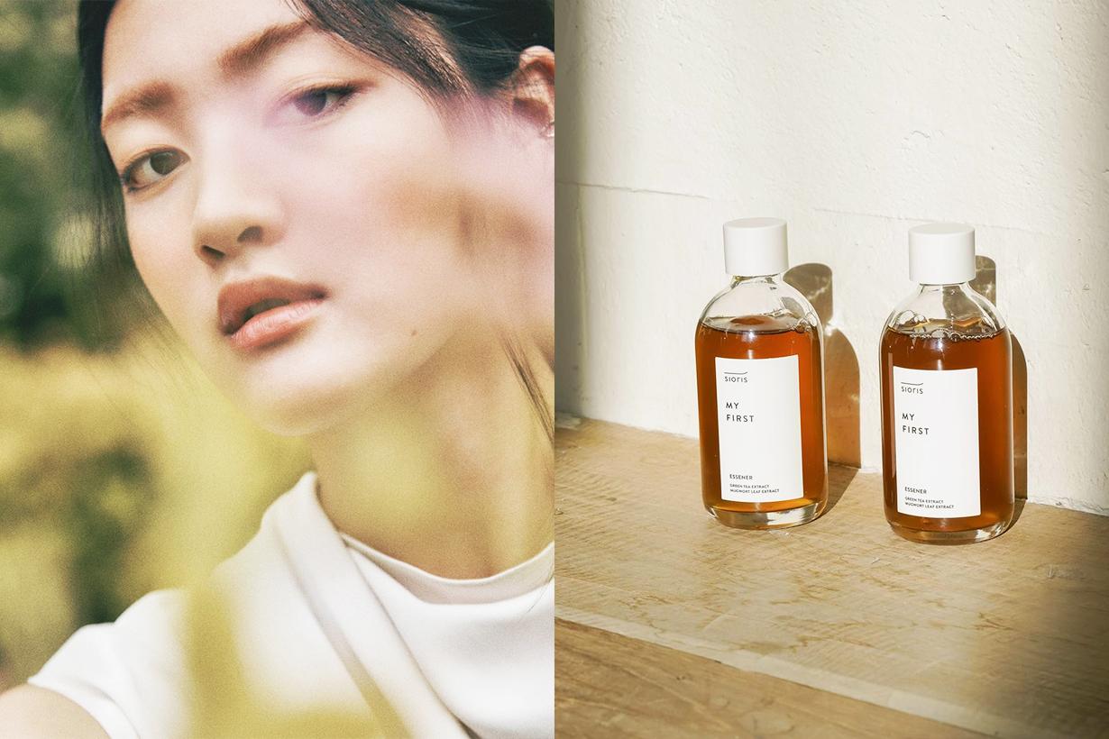 JYP Entertainment SIORIS Park Jin Young Korean skincare Cosmetics Organic Skincare Clean Beauty
