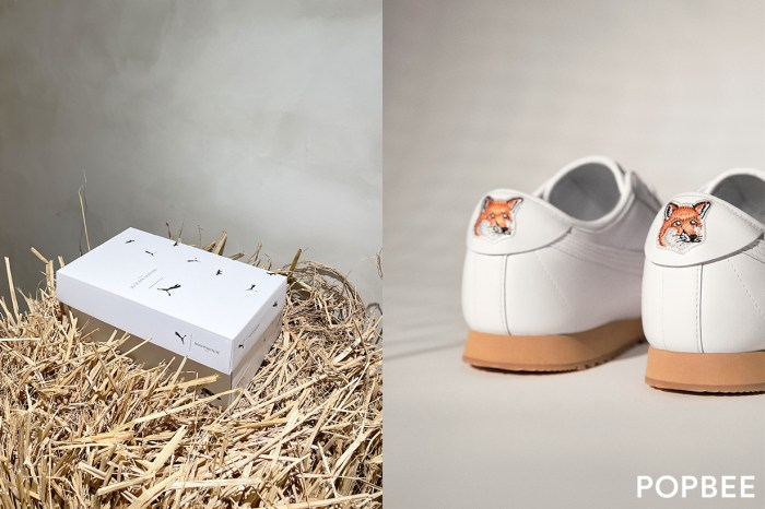 Puma x Maison Kitsuné 即將開賣,馬上瞄準小狐狸刺繡的波鞋!
