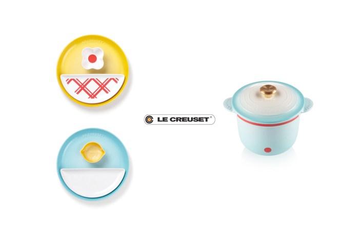 忍不住下手:Le Cruset x 哆啦 A 夢聯名,法瑯鍋、瓷盤、杯子… 太融化!