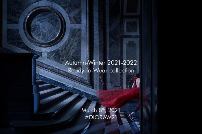 直播 Dior 2021 秋冬時裝秀!一起看看有什麼人氣必搶手袋
