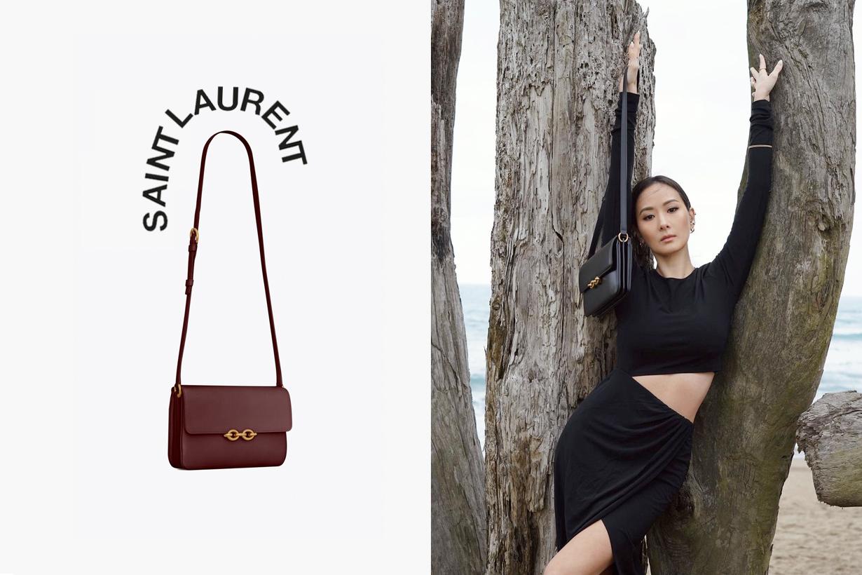 saint laurnt la mallion 2021 ss21 where buy it bag