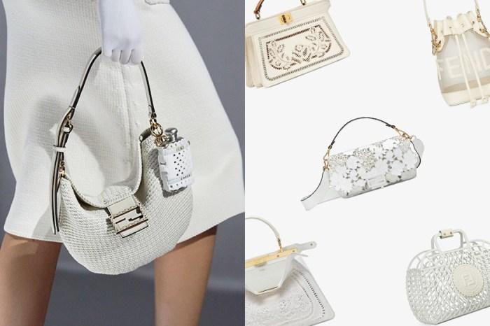 美得屏息:Fendi 2021 春夏手袋上架,刺繡花朵 Baguette 仙氣滿分!