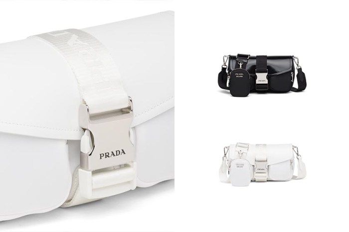 預測爆紅:Prada 又推出全新三合一包,雙口袋設計超可愛!