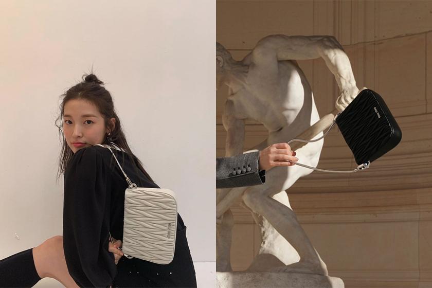 miu miu meet the all new miu sassy bag handbags 2021