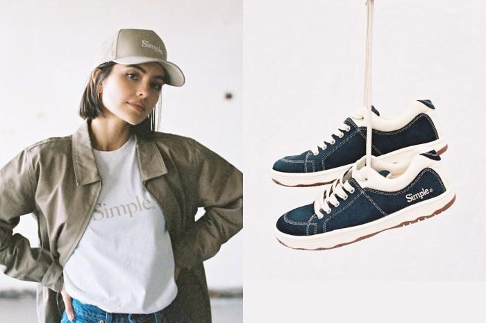 美式復古時髦味:Simple Shoes 回歸,今年夏天就要紅起來!